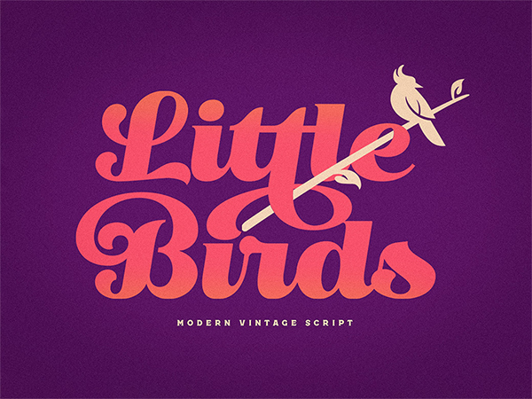 Little Bird Vintage Free Script Font