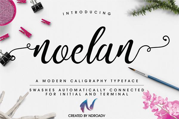 Noelan Free Script Font