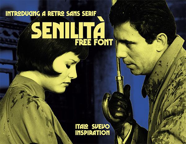 Senilita Retro Free Font