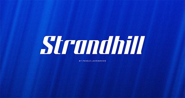 Strandhill Free Font