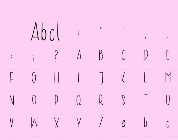 Abcl Font