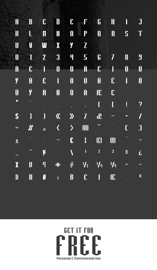 Frankia Font