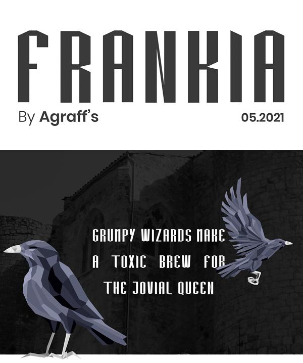 Frankia Free Font