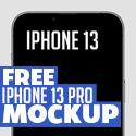 Post Thumbnail of Free iPhone 13 Pro Mockup PSD