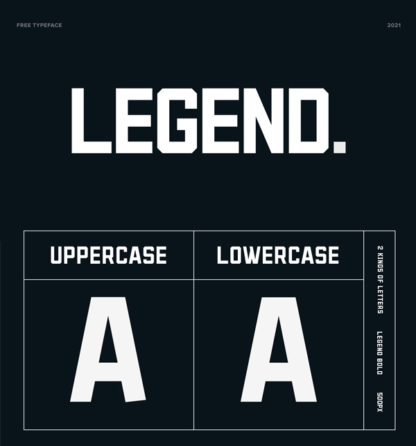 LEGEND Sans Serif Free Font