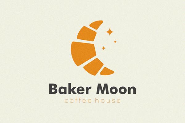 Baker Moon Logo Concept by Yuri Kartashev
