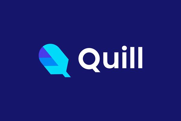 Quill Logo Design by Badr