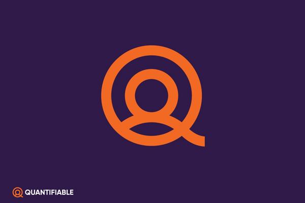 Quantifiable symbol logo by Slavisa Dujkovic