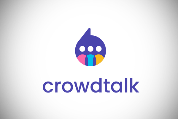 Crowd Talk Logo Design by Badr