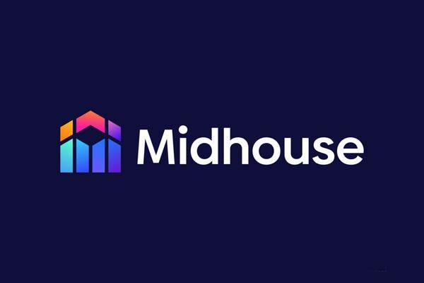 M + House Logo Mark - Modern Construction Logo by Freelancer Iqbal