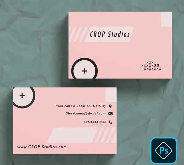 Modern Photography Business Card