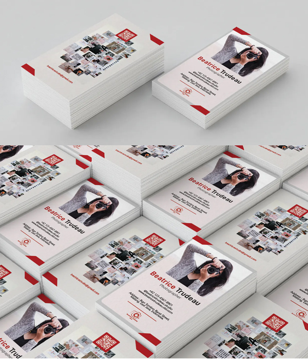 Attractive Photography Business Card
