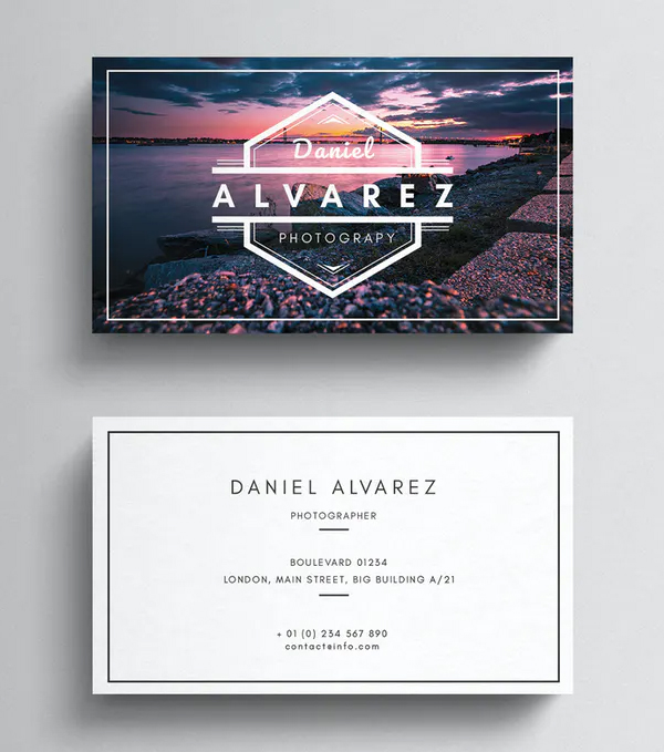 Best Photography Business Card Template