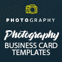 Post thumbnail of Creative Photography Business Card Templates PSD