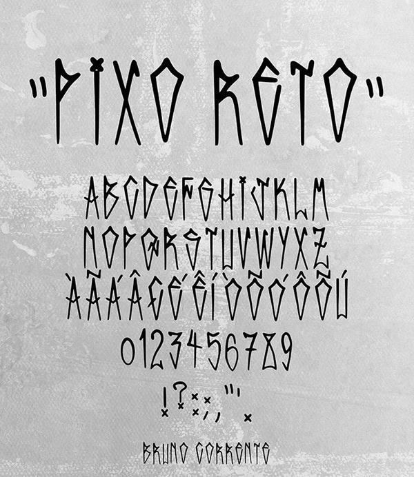 Pixo Reto Free Font