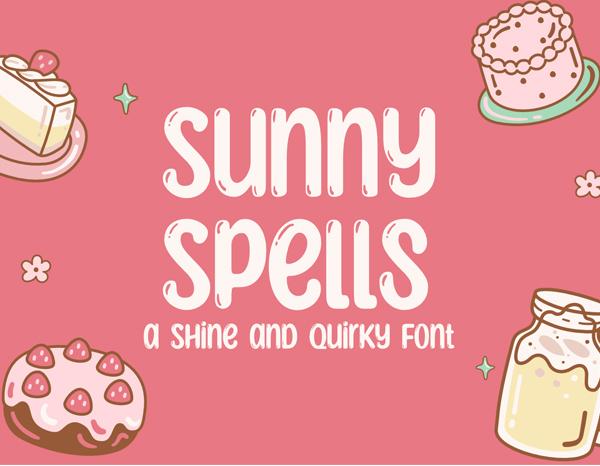 Sunny Spells Free Font