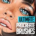 Post thumbnail of The Ultimate Procreate Brushes (20 Brush Sets)